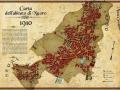 Carta dell'abitato di Nuoro 1910