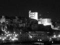 Castello di Cagliari in notturna