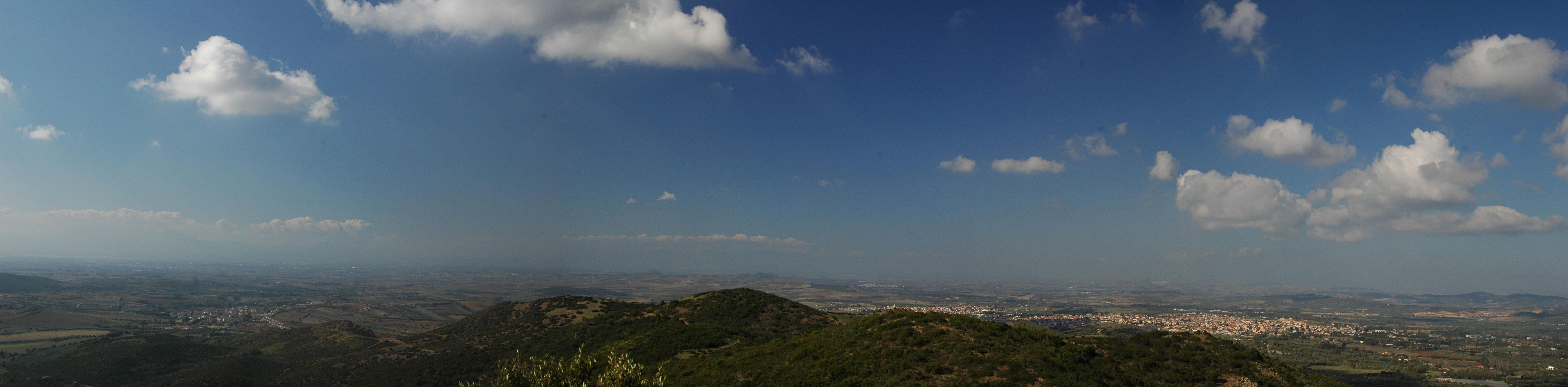 Panoramica da Monte Arrubiu
