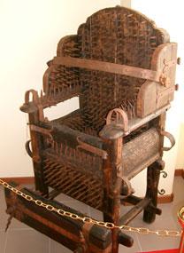 sedia dell'eretico