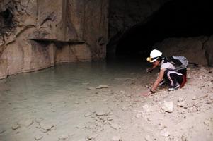 la grotta della frana a cagliari