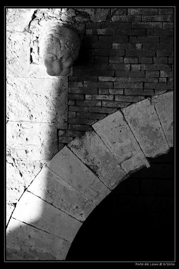 La porta dei Leoni - Cagliari