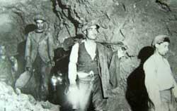 Ingresso in miniera