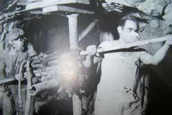 Perforatori in miniera