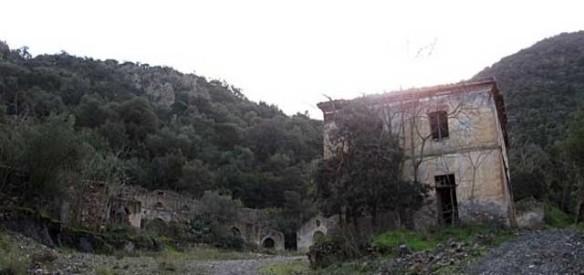 Ruderi del villaggio minerario