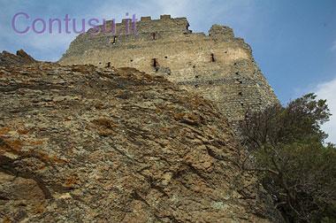 Il castello di Acquafredda a Siliqua