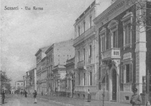 via roma - abitazione della Giles