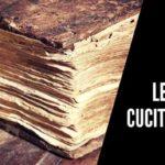 Le pagine cucite con il filo