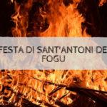 La festa di Sant'Antoni de su fogu