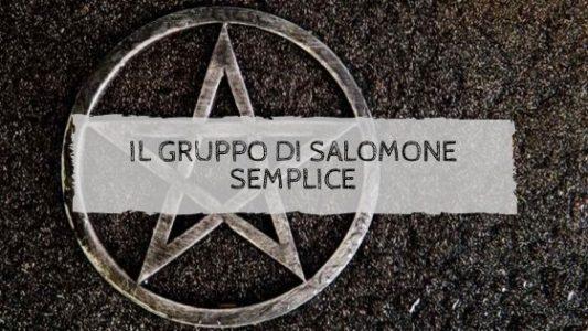 Il gruppo di Salomone semplice