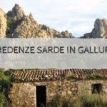 Credenze sarde in Gallura