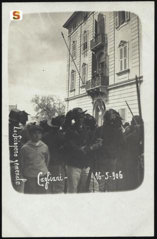 Cagliari, sciopero generale del 16 maggio 1906